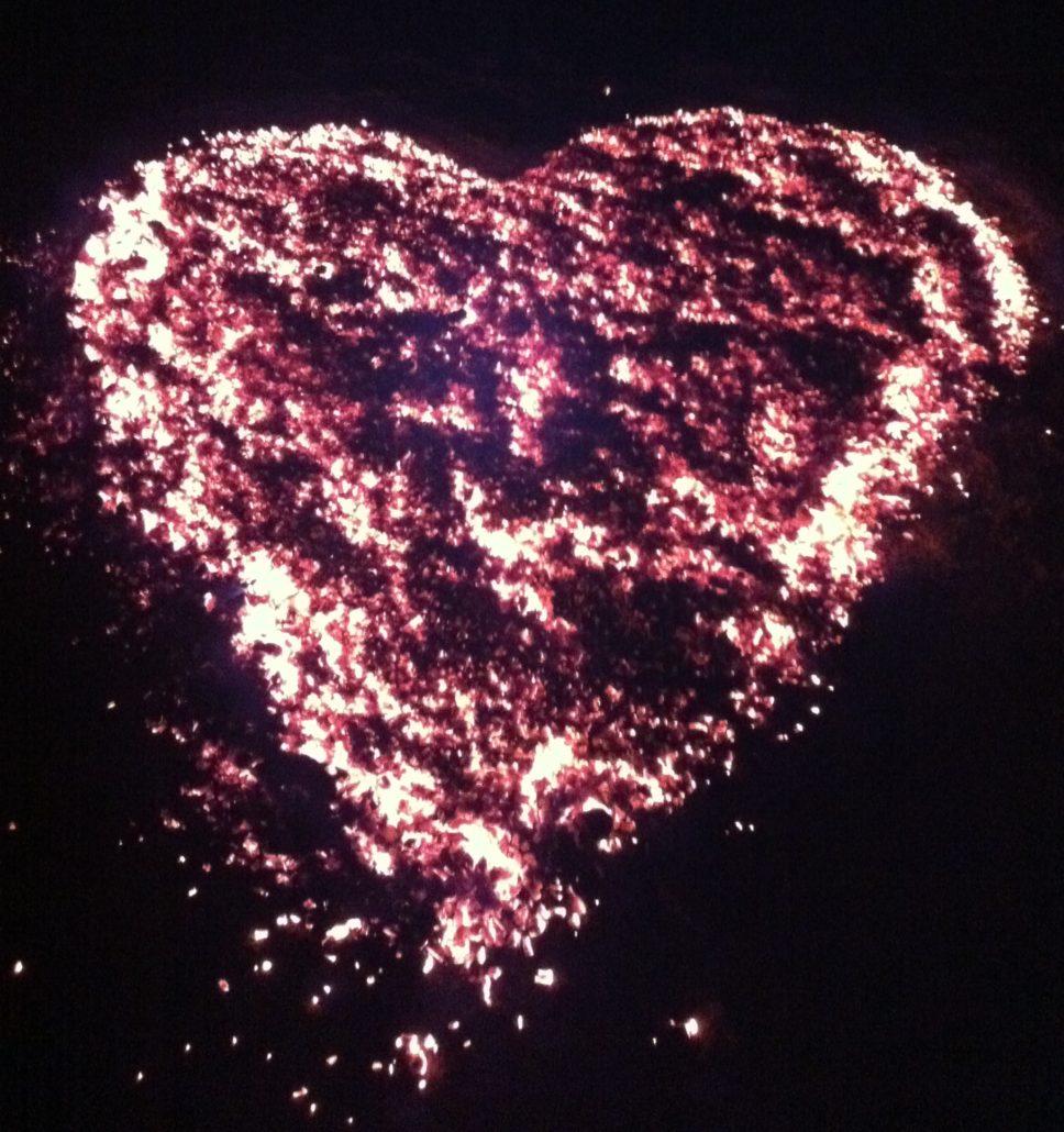Ein Herz aus Glut